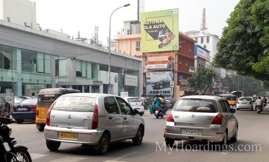 Outdoor advertisement Hoardings in Chennai, Best outdoor advertising company Chennai