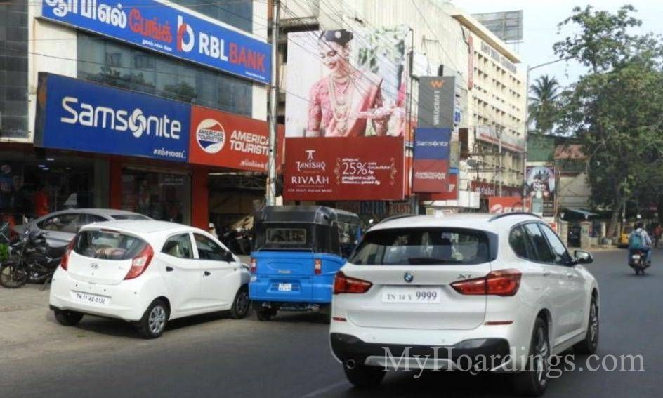 Outdoor Media Promotion advertising in Chennai, Hoardings Agency in Nungambakkam Chennai