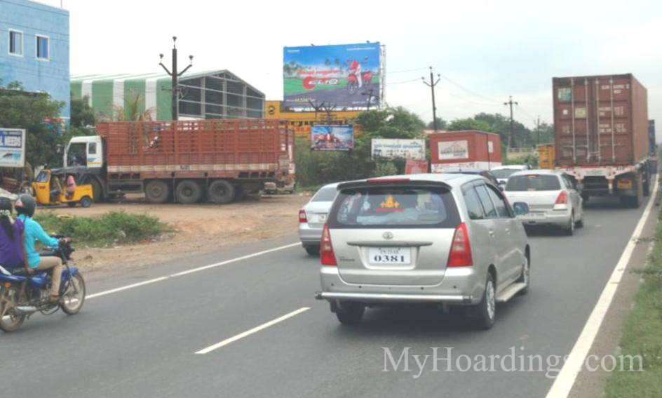 OOH Hoardings Agency in India, highway Hoardings advertising in Chennai, Hoardings Agency in Sriperambudur Chennai