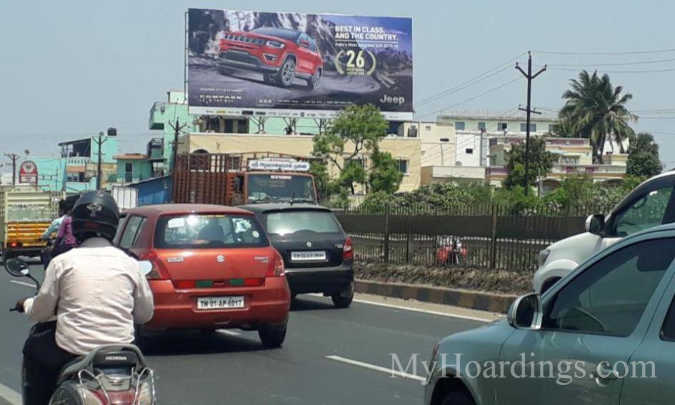 Outdoor advertising in India, Vanagaram Chennai Billboard advertising