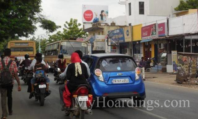 Outdoor Media Promotion advertising in Villivakkam Chennai, Hoardings Agency in Chennai