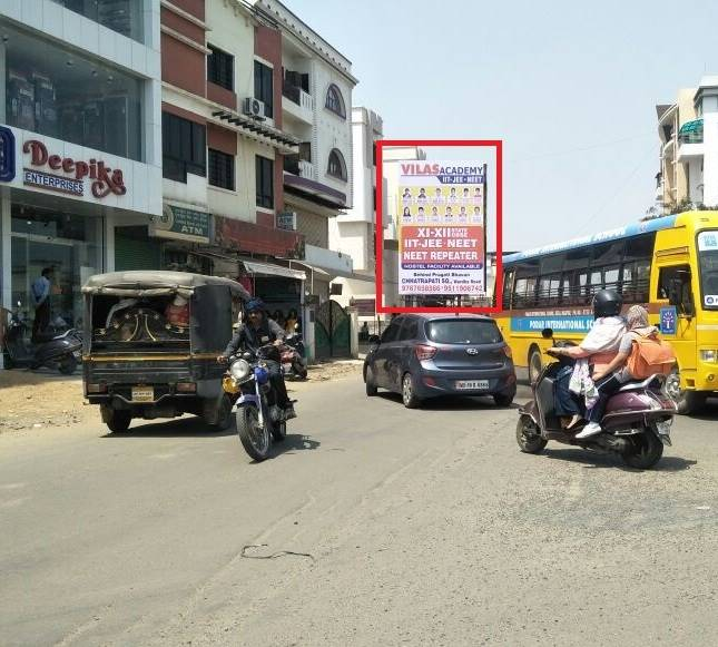 How to Book outdoor advertising Agency in Besa Square Facing Besa Area Pipla in Nagpur