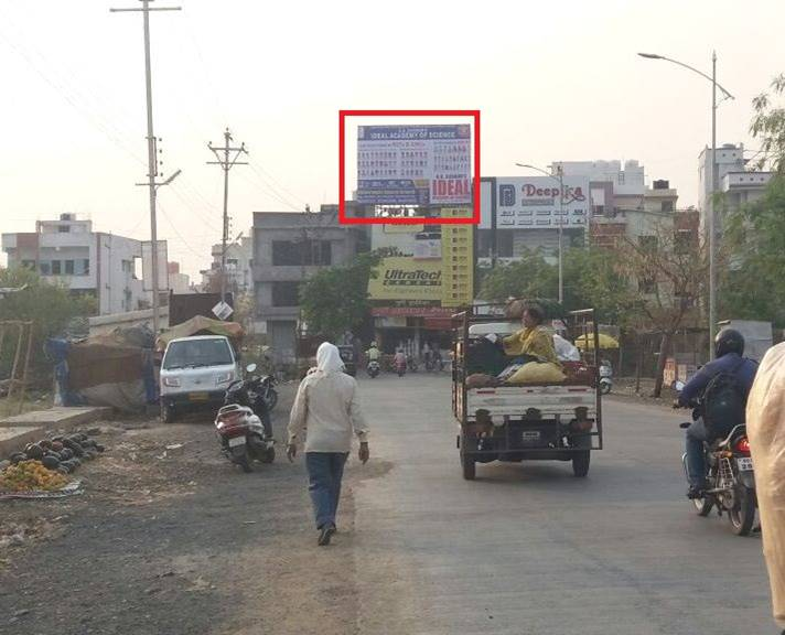 Hoardings Agency Manish Nagar area at purushottam super bazar in Nagpur, Outdoor Media Agency Nagpur