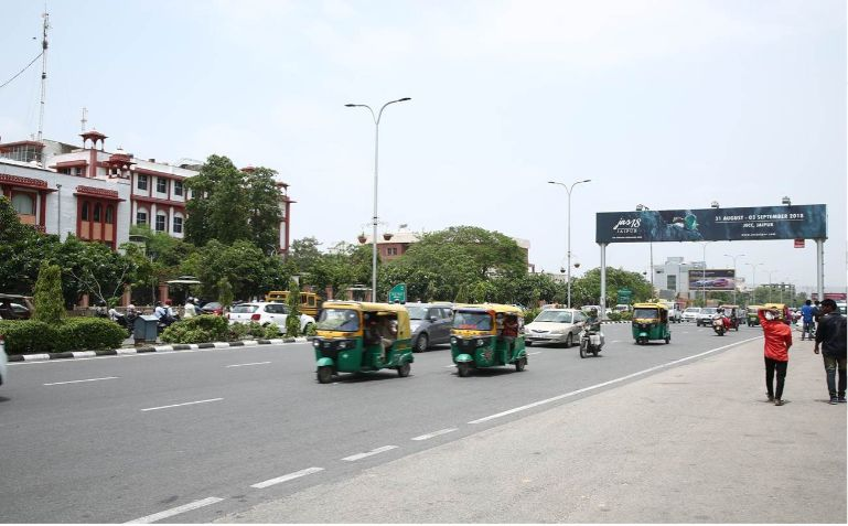 Gantries at JLN Marg Jaipur| Outdoor Advertising Jaipur,Best outdoor publicity Rajasthan