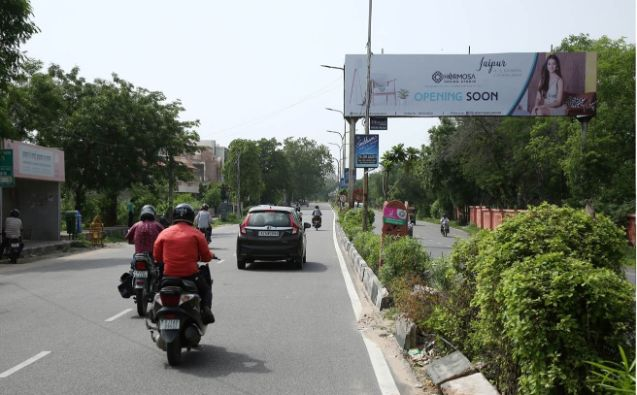 Gantries at Vaishali Nagar Queens Road, Purani Chugi,Best outdoor publicity Rajasthan