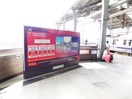 Arumbakkam metro Station Advertising Agency, Arumbakkam Metro Station Branding in  Chennai, Back Lit Panel Metro Station Advertising in Chennai