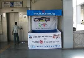Advertising in Dr. B.R. Ambedkar Metro Station, Kiosk Metro Station Advertising in Bangalore