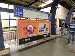 INA Metro Station Advertising in Delhi, Best Panel metro Station Advertising Agency for Branding