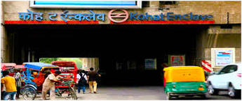 Kohat Enclave Metro Station Advertising in Delhi, Best Back Lit Panel metro Station Advertising Agency for Branding