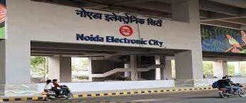 Noida Electronic City Metro Station Advertising Agency, Noida Electronic City Metro Station Branding in Noida, Co Branding Rights Metro Station Advertising in Noida Electronic City, Noida
