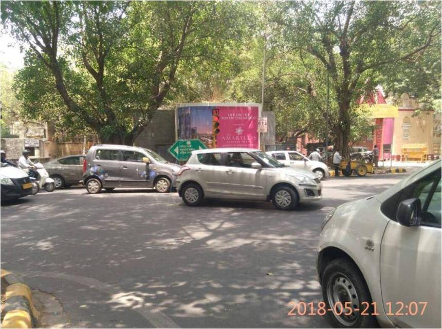 Best OOH Ad agency in New Delhi, Unipole Company New Delhi, Unipole rates in Swati Hostel