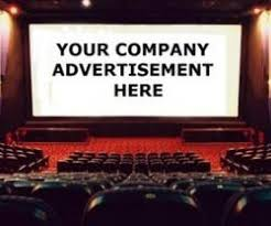 Advertising in Novelty Msg, On Screen Cinema Advertising in Novelty Msg