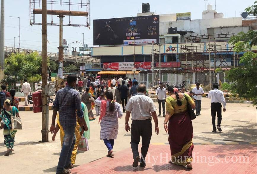 Best OOH Ad agency in Velachery Railway Station Chennai, Hoardings Company Chennai