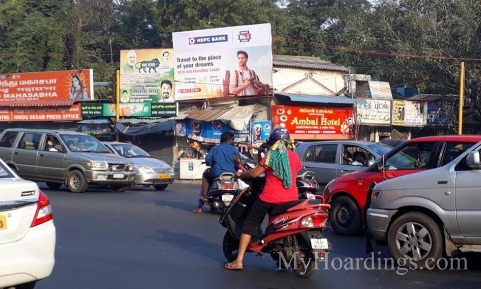 How to Book Hoardings in Kilpauk Taylors Road Chennai, Best outdoor advertising company Chennai