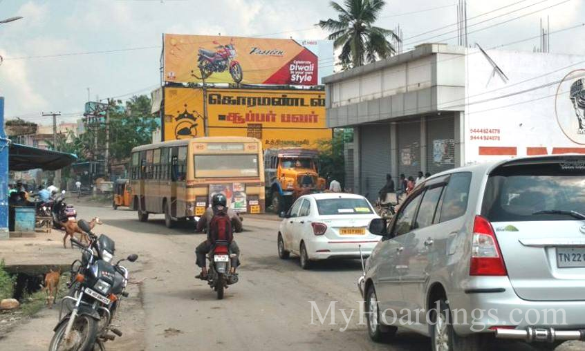 How to Book Hoardings in Chennai, Best outdoor advertising company Kundrathur Chennai