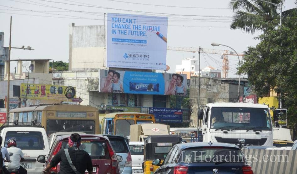 Billboard Advertising and Brand Promotion agency Chennai, Flex Banner Arumbakkam
