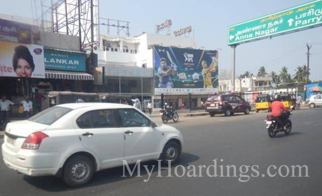 How to Book Hoardings in Chennai, Best outdoor advertising company Koyambedu Opposite Metro Chennai