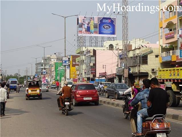 Outdoor advertising in India, Langer House Suncity Nursing Home Hyderabad Billboard advertising, Flex Banner