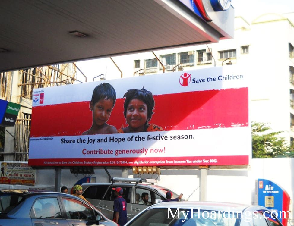 Banner Display Ads on Petrol pumps Agency Chhattisgarh, Chhattisgarh Petrol Pump advertising