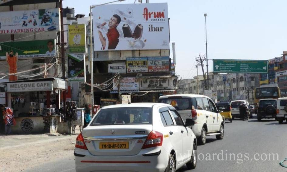 Hoardings at Velachery in Chennai, Best outdoor advertising company Chennai
