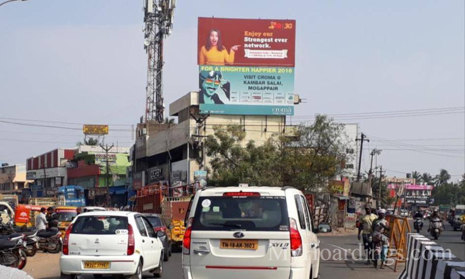 Outdoor advertisement Hoardings in Ambattur Chennai, Best outdoor advertising company Chennai
