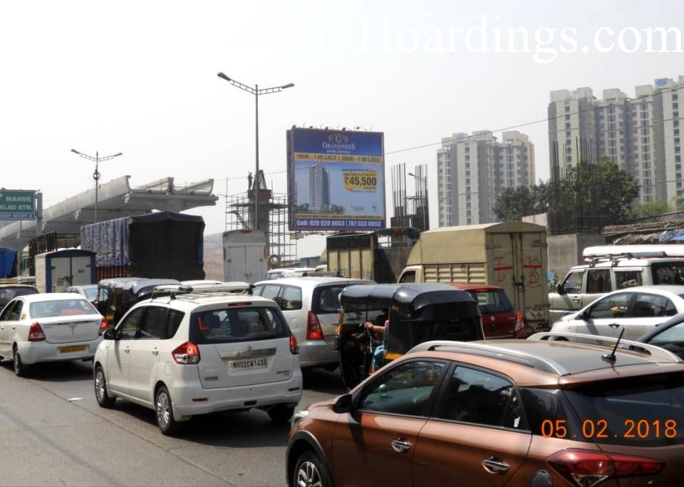 Outdoor advertisement Hoardings in Malad Mumbai, Best outdoor advertising company Mumbai
