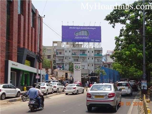 Outdoor advertisement Hoardings in Raj Bhavan Rd Fairy Lake Apt Hyderabad, Best outdoor advertising company Hyderabad