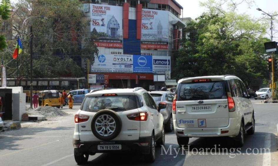 Outdoor advertisement Hoardings in T.Nagar Chennai, Best outdoor advertising company Chennai