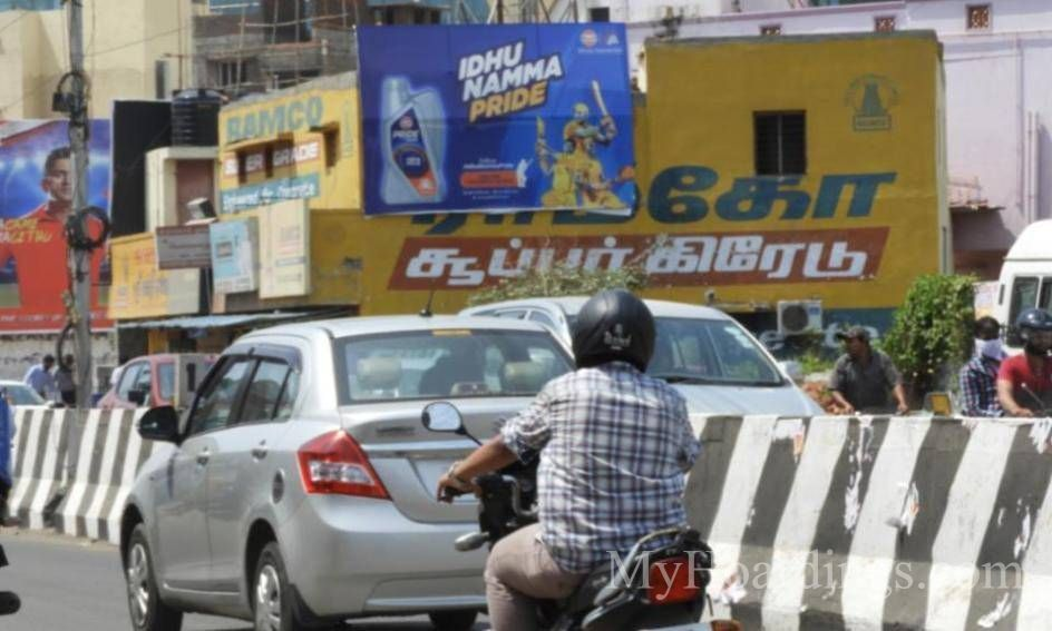 Outdoor advertising in India, Taramani IT Park Chennai Billboard advertising, Flex Banner
