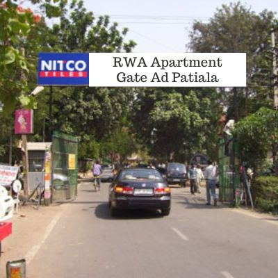 RWA Advertising options in Patila Heights Patiala, Society Gate Ad company in Patiala