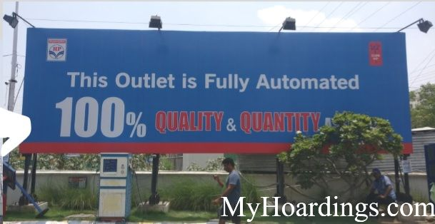 Hindustan petroleum pump advertising in Lucknow, How to advertise on P.L.Jain Petrol pumps in Lucknow?
