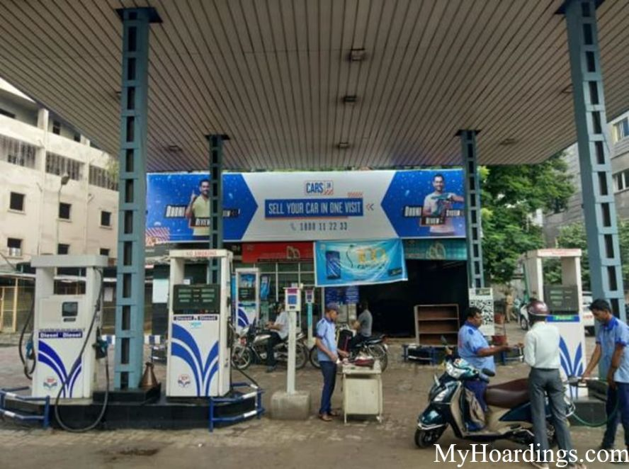 Petrol Pump Agency in India, Advertisement on Happy Service Center-Saifabad Fuel Pumps Hyderabad