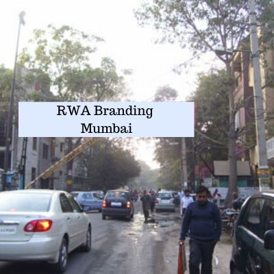 Residential Society Advertising in Pushpa Apartments Mumbai, RWA Branding in Mumbai