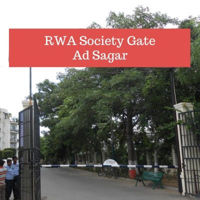 RWA Advertising options in Rose Balak Complex Sagar, Society Gate Ad company in Sagar