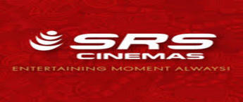 SRS Cinemas Theatre Advertising Agency, SRS Cinemas Branding in Gurugram, On Screen Cinema Advertising in Celebration Mall's, Gurugram.