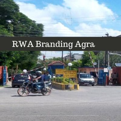 Residential Society Advertising in Sector 8 Agra, RWA Branding in Agra Uttar Pradesh