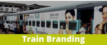 Train Wrap Advertising , Koyna Express Train Vinyl Wrapping