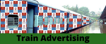 Train Advertising , Lucknow sup Express Train Branding