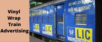 Ngp Jaipur weekly Express Train Wrap Advertising ,Train Vinyl Wrapping