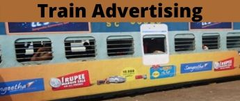 Indian Railway Advertisement , Vidarbha Express Train Advertising