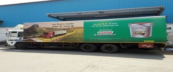 Truck Advertising in Punjab, Truck Advertising Agency in Punjab, truck Signage, Canter Activity Advertising