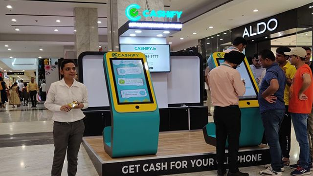 Kiosk in UB City Mall, Bangalore