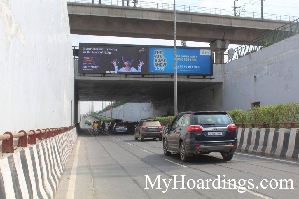 Hoardings Advertising and Brand Promotion Agency City Center Under Pass Sec-39 in Noida
