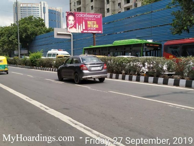 Hoardings on Minto Road Traffic coming from CP in New Delhi, Hoardings Company in New Delhi, Hoarding rates in Minto Road Traffic coming from CP