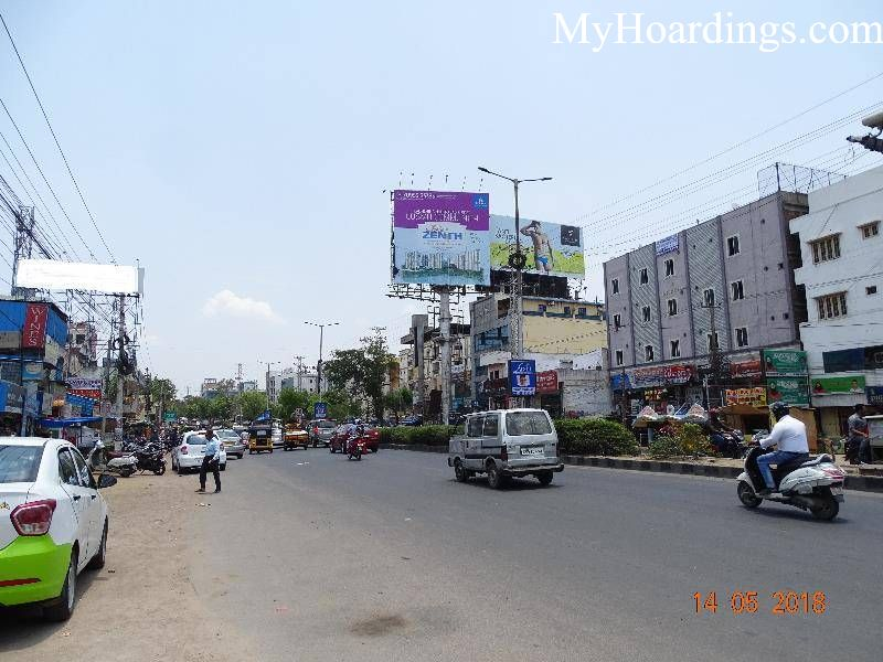 Outdoor Advertising in India, Gachibowli Near KFC Hyderabad Billboard advertising, Flex Banner
