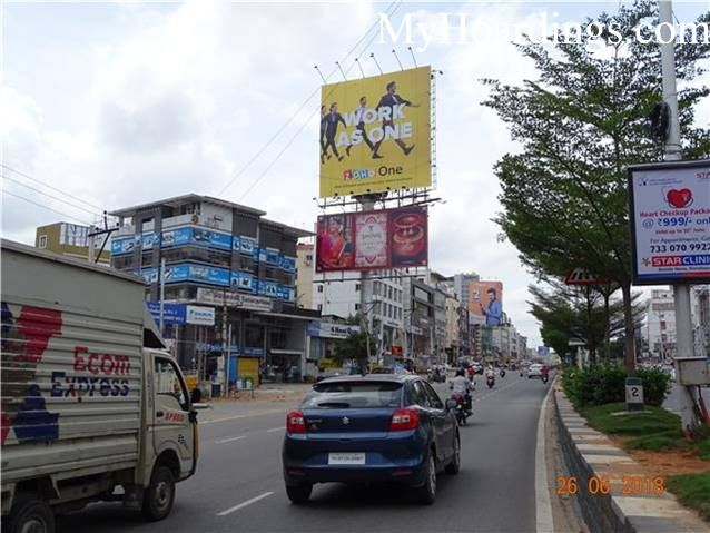 Hyderabad Billboard advertising, Advertising company Hyderabad, Flex Banner at Gachibowli
