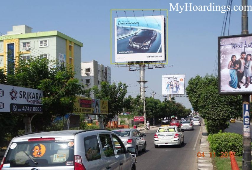 Best OOH Ad Agency in Khanamet Kukatpally Road Hyderabad, Unipole Company at Khanamet Kukatpally Road Hyderabad