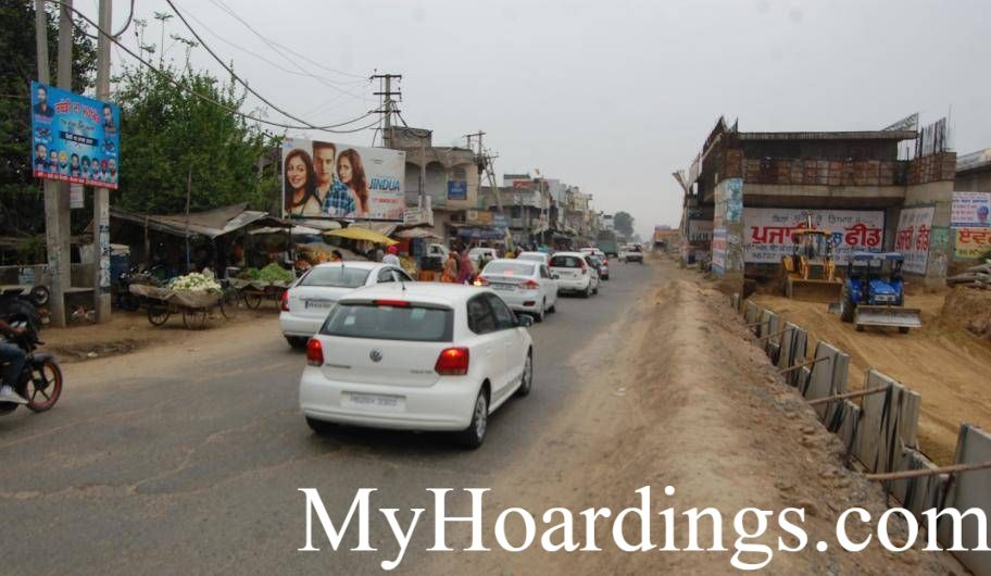 Best OOH Ad agency in Moga Facing in Mullanpur, Unipole Company Mullanpur, Flex Banner