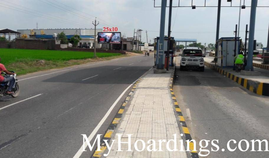 Outdoor Media Promotion advertising in Ahmedgarh, Unipole Agency in Toll Plaza Ahmedgarh, Flex Banner Advertising Punjab