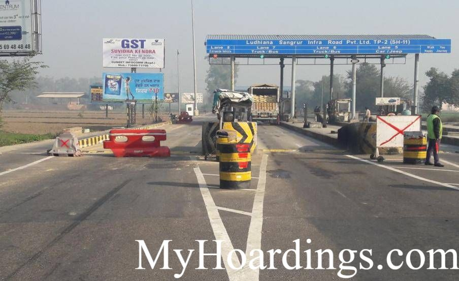 Book Unipole Online Toll Plaza in Sangrur- Dhuri, Hoardings company Toll Plaza in Sangrur- Dhuri, Flex Banner Toll Plaza in Sangrur- Dhuri